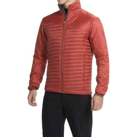 Black Diamond Equipment Hot Forge PrimaLoft® Hybrid Jacket -- Insulated (For Men) in Deep Torch - Closeouts