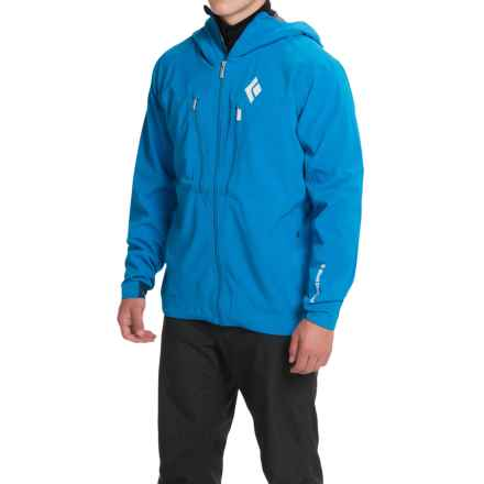 Black Diamond Equipment Induction Windstopper® Jacket (For Men) in Sapphire - Closeouts