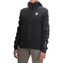 Black Diamond Equipment Induction Windstopper® Soft Shell Jacket (For Women) in Black - Closeouts