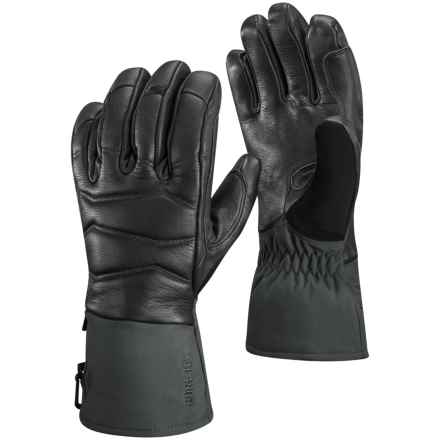 Black Diamond Equipment Iris Gore-Tex® Gloves - Waterproof, Insulated (For Women) in Black - Closeouts