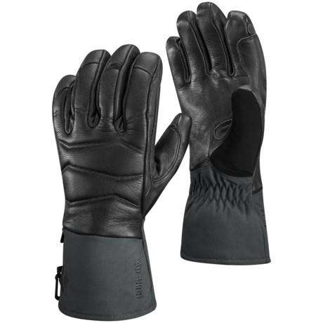 Black Diamond Equipment Iris Gore-Tex® Gloves - Waterproof, Insulated (For Women) in Black