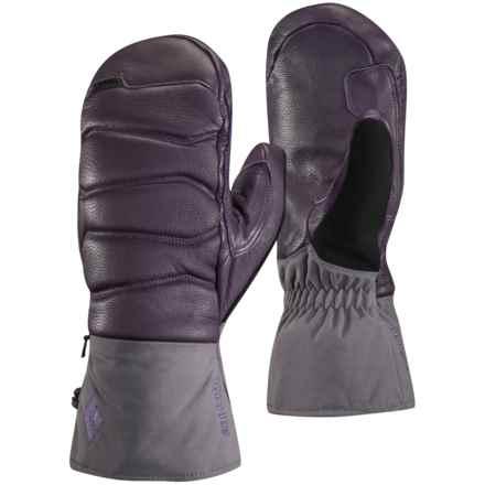 Black Diamond Equipment Iris Gore-Tex® Mittens - Waterproof, Insulated (For Women) in Nightshade - Closeouts