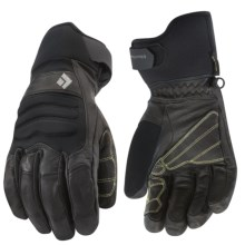 Black Diamond Equipment Kajia Gore-Tex® Gloves - Waterproof, Insulated (For Men) in Black - Closeouts