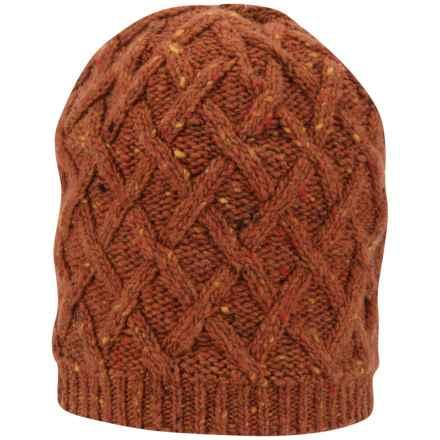 Black Diamond Equipment Karina Beanie - Merino Wool-Alpaca, Fleece Lined (For Men and Women) in Octane - Closeouts