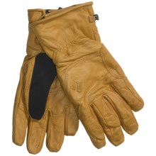 Black Diamond Equipment Kingpin Gloves - Goat Leather (For Men) in Natural - Closeouts