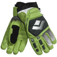 Black Diamond Equipment Legend Gore-Tex® XCR® Gloves - Waterproof, Insulated (For Men) in Lime Green - Closeouts