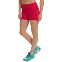 Black Diamond Equipment Levitation Shorts (For Women) in Rose Red - Closeouts
