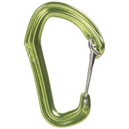 Black Diamond Equipment Livewire Carabiner in Envy Green - 2nds
