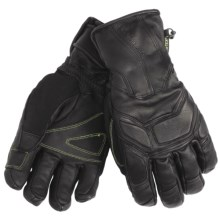 Black Diamond Equipment Mad Max Gore-Tex® Gloves - Waterproof, Insulated, Leather (For Men) in Black - Closeouts