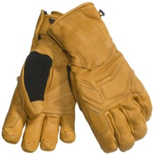 Black Diamond Equipment Mad Max Gore-Tex® Gloves - Waterproof, Insulated, Leather (For Men) in Natural - Closeouts
