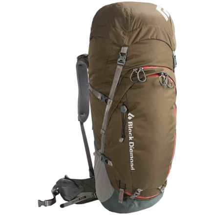 Black Diamond Equipment Mercury 55 Backpack - Internal Frame in Stone - Closeouts