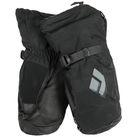Black Diamond Equipment Mercury Mittens - Waterproof, Insulated (For Men) in Black