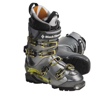 Black Diamond Equipment Method AT Ski Boots - Dynafit Compatible (For Men and Women) in Titanium