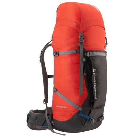 Black Diamond Equipment Mission 50 Backpack - Internal Frame in Lava