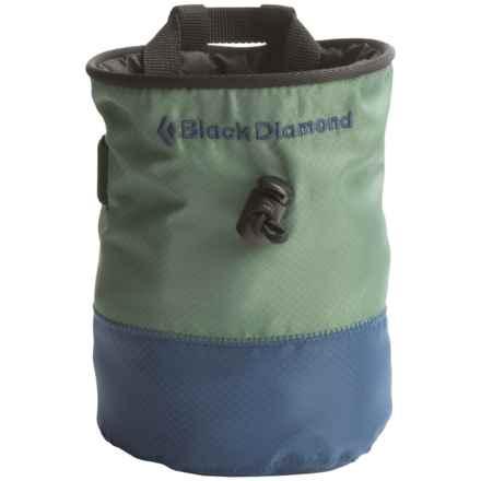 Black Diamond Equipment Mojo Repo Chalk Bag in Forest - Closeouts
