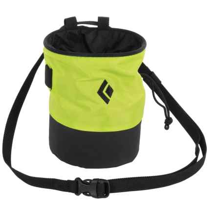 Black Diamond Equipment Mojo Zip Chalk Bag in Aloe/Slate - Closeouts