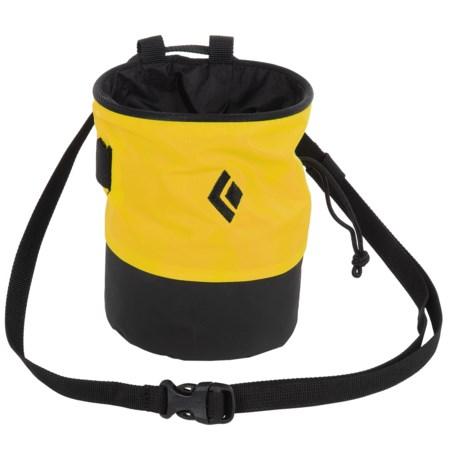 Black Diamond Equipment Mojo Zip Chalk Bag in Flash/Slate