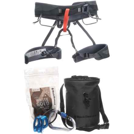 Black Diamond Equipment Momentum Harness Package in Graphite/Black - Closeouts