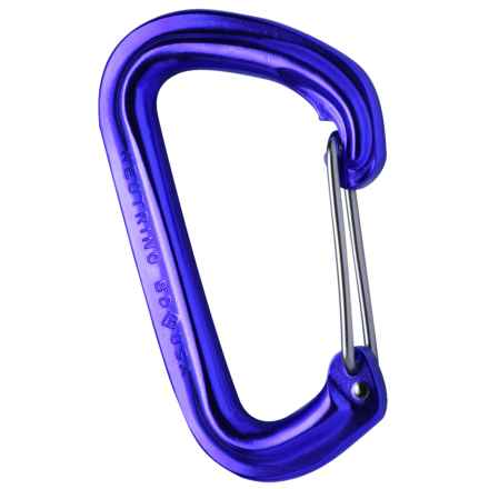 Black Diamond Equipment Neutrino Carabiner in Blue - 2nds