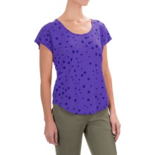 Black Diamond Equipment Open Air T-Shirt - Short Sleeve (For Women) in Amethyst - Closeouts