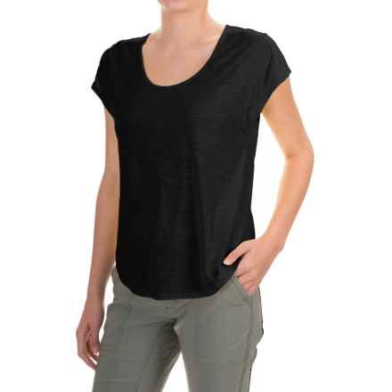 Black Diamond Equipment Open Air T-Shirt - Short Sleeve (For Women) in Black - Closeouts