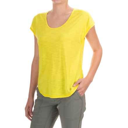 Black Diamond Equipment Open Air T-Shirt - Short Sleeve (For Women) in Citrine - Closeouts