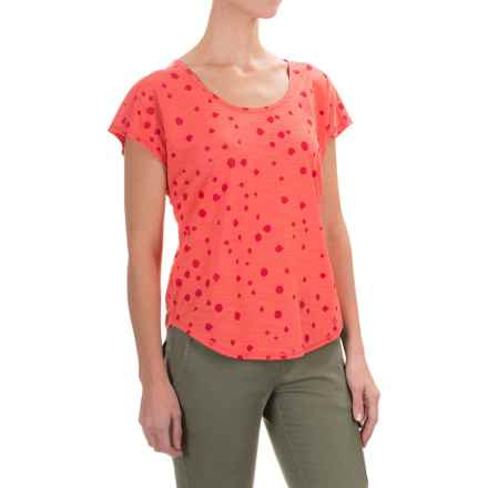 Black Diamond Equipment Open Air T-Shirt - Short Sleeve (For Women) in Coral - Closeouts