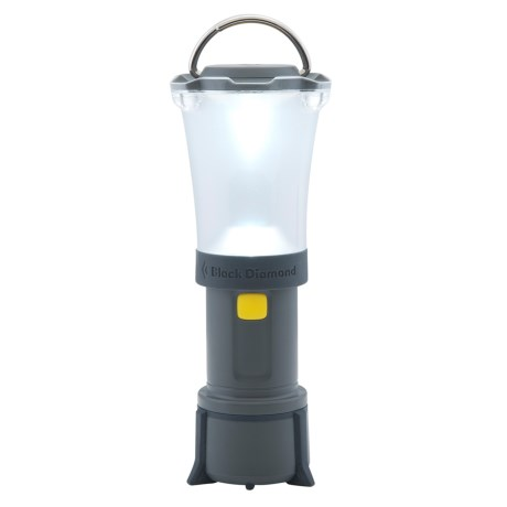 Black Diamond Equipment Orbit LED Lantern in Dark Shadow