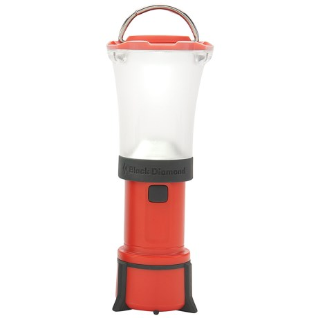 Black Diamond Equipment Orbit LED Lantern in Lava