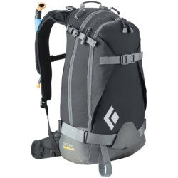 Black Diamond Equipment Outlaw AvaLung Snowsport Backpack in Black