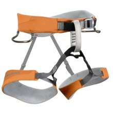 Black Diamond Equipment Ozone Climbing Harness in Burnt Orange - Closeouts