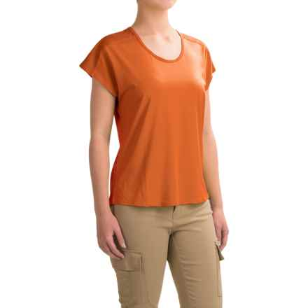 Black Diamond Equipment Pale Fire T-Shirt - Short Sleeve (For Women) in Dawn - Closeouts