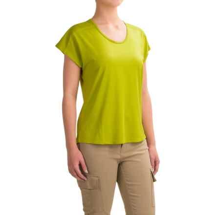 Black Diamond Equipment Pale Fire T-Shirt - Short Sleeve (For Women) in Grass - Closeouts