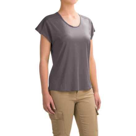 Black Diamond Equipment Pale Fire T-Shirt - Short Sleeve (For Women) in Slate - Closeouts