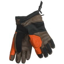 Black Diamond Equipment Patrol Gloves - Waterproof, Insulated (For Men) in Flame Orange - Closeouts