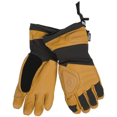 Black Diamond Equipment Patrol Gloves - Waterproof, Insulated (For Men) in Natural