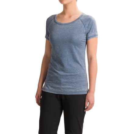 Black Diamond Equipment Pingora T-Shirt - Short Sleeve (For Women) in Denim - Closeouts