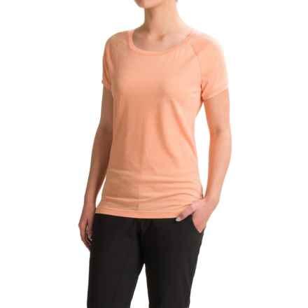 Black Diamond Equipment Pingora T-Shirt - Short Sleeve (For Women) in Salmon - Closeouts