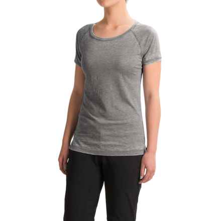 Black Diamond Equipment Pingora T-Shirt - Short Sleeve (For Women) in Slate - Closeouts