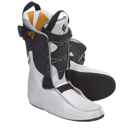 Black Diamond Equipment Power Fit Light Ski Boot Liners (For Women) in See Photo
