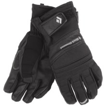 Black Diamond Equipment Punisher Gloves - Waterproof (For Men) in Black - Closeouts