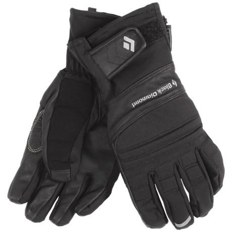 Black Diamond Equipment Punisher Gloves - Waterproof (For Men) in Black