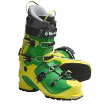 Black Diamond Equipment Quadrant AT Ski Boots - Dynafit Compatible (For Men and Women) in Limelight - Closeouts