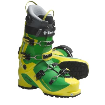 Black Diamond Equipment Quadrant AT Ski Boots - Dynafit Compatible (For Men and Women) in Limelight