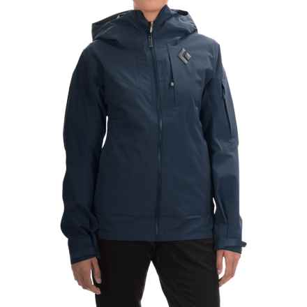Black Diamond Equipment Recon Windstopper® Jacket (For Women) in Captain - Closeouts