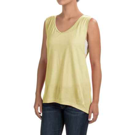 Black Diamond Equipment Rectory Tank Top - Merino Wool-Modal (For Women) in Lemon - Closeouts