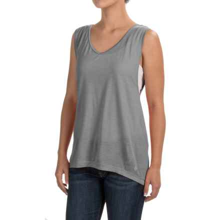 Black Diamond Equipment Rectory Tank Top - Merino Wool-Modal (For Women) in Nickel - Closeouts