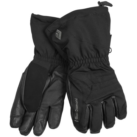 Black Diamond Equipment Renegade Gore-Tex® XCR® Gloves - Waterproof, Insulated (For Men) in Black