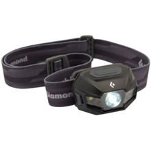 Black Diamond Equipment ReVolt Headlamp - Rechargeable in Matte Black - Closeouts