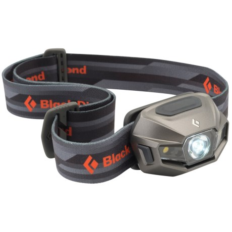 Black Diamond Equipment ReVolt Headlamp - Rechargeable in Titanium